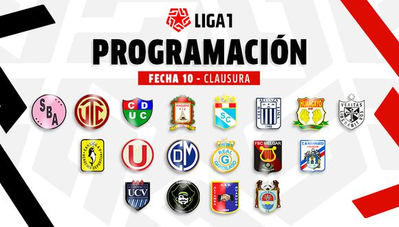 Conoce la programación completa de la Fecha 10 del Torneo Clausura de la Liga 1. (Diseño: Depor)