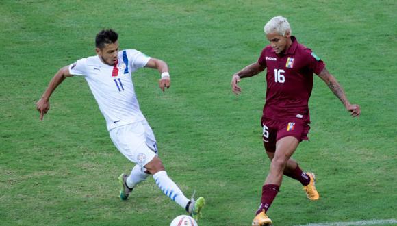 Paraguay sumó sus primeros tres puntos en las Eliminatorias Qatar 2022. (Foto: Albirroja).