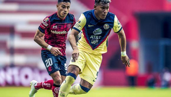 América vs. Toluca se vieron las caras este domingo por la jornada 16 de la Liga MX 2021 (Foto: @ClubAmerica)