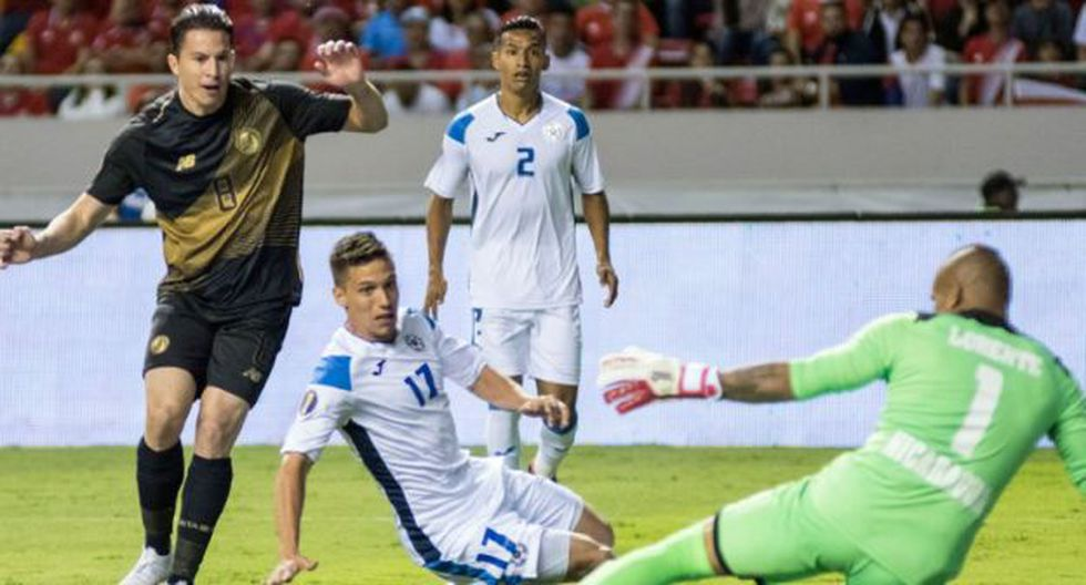 ¡Surge otro favorito! Costa Rica venció y goleó a Nicaragua en choque por el Grupo B por la Copa de Oro 2019