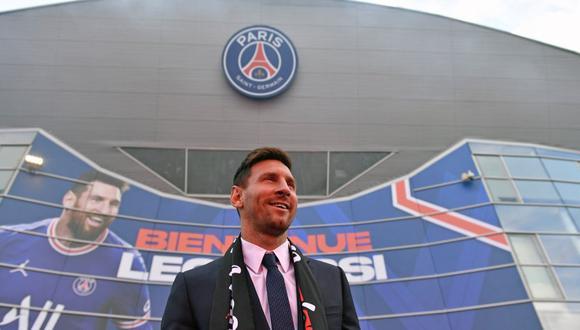 Lionel Messi firmó contrato con el PSG por dos temporadas con opción a renovar por una más. (@psg_espanol)