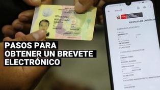 Brevete electrónico: ¿Cómo obtener la nueva licencia de conducir digital?