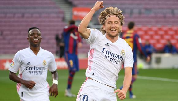FIFA 21: Luka Modrić obtiene su mejor carta gracias a FUT Birthday.   Foto: AFP