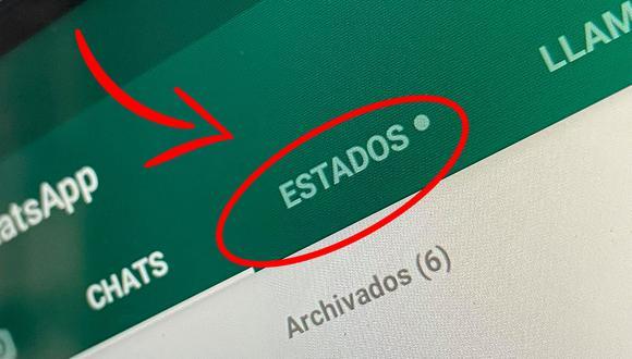 De esta forma podrás tener descargado los Estados de WhatsApp en alta calidad. (Foto: Depor)