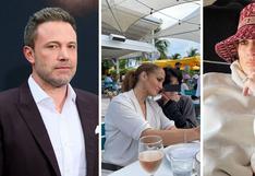Ben Affleck e hija de Jennifer Lopez  salen de compras y menor causa polémica por su rostro