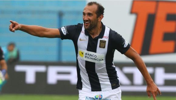 Hernán Barcos es el jugador más influyente de Alianza Lima. (Foto: Liga 1)