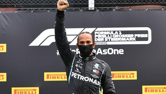Lewis Hamilton se llevó el GP de Rusia por el Mundial de la F1. (AFP)