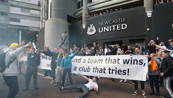 El Newcastle fue comprado por un fondo saudí a cambio de 300 millones de euros. (Getty)