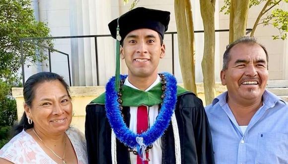 Erick Martínez Juárez agradeció al apoyo que ha recibido de su familia. (Foto: @erickmjuarez10   Twitter)