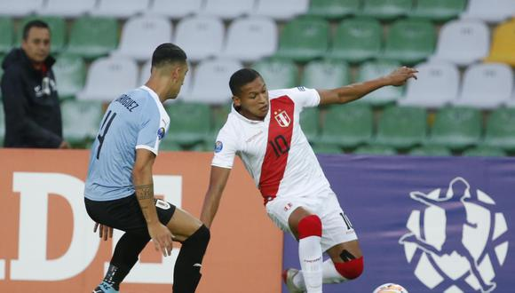 Fernando Pacheco ha sido titular en los tres partidos de Perú en el Preolímpico Sub 23. (Foto: Violeta Ayasta / GEC)