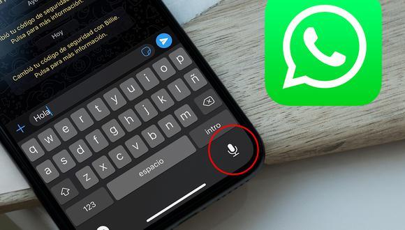 ¿No quieres escribir tu mensaje en WhatsApp? Así lo puedes transcribir. (Foto: Depor)