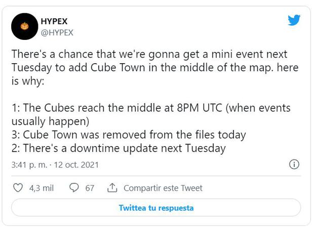 HYPEX commented on future Fortnite changes