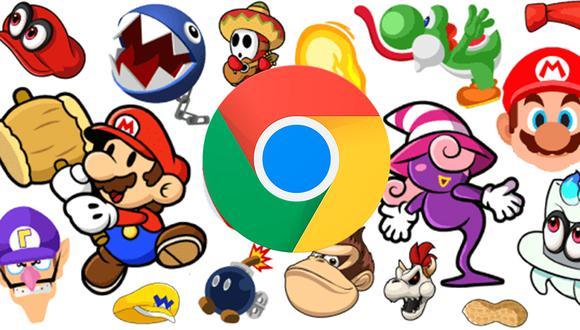 ¡Cambia el cursos de tu laptop a Mario Bros, Harry Potter, una pizza con este truco de Google Chrome! (Foto: Custom Cursor)