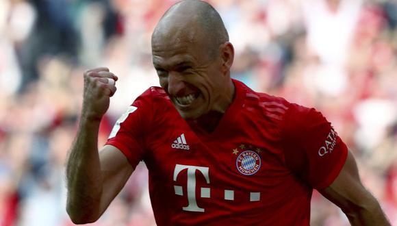Robben no marcaba con el Bayern Munich desde el 25 de septiembre del año pasado. (AFP)