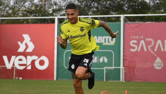 Paolo Guerrero es uno de los goleadores en actividad de la Copa Libertadores. (Foto: Internacional de Porto Alegre)