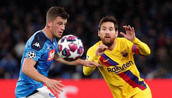 Champions League 2020: Barcelona vs. Napoli con horarios y canales por octavos de final en Camp Nou