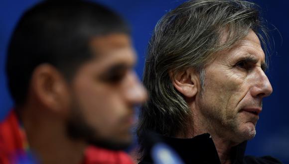 Ricardo Gareca comentó sobre la llegada de Luis Abram a Granada de España. (Foto: AFP)