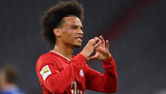 Sané volvió a entrenar con Bayern Munich. (Foto: AFP)