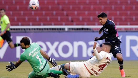 Universitario cayó 4-0 frente a Independiente del Valle (Foto: agencias)