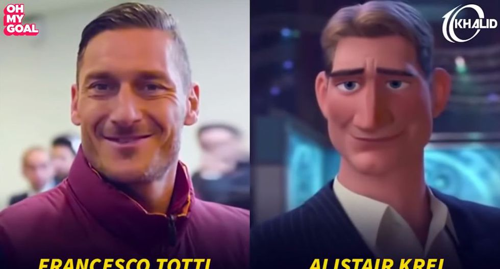 Francesco Totti. (Foto/Captura: YouTube)