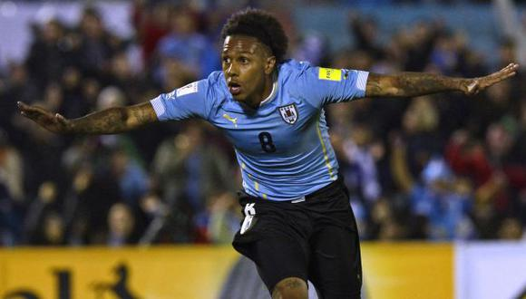 Abel Hernández jugó el Mundial Brasil 2014 con la selección de Uruguay. (Foto: AFP)