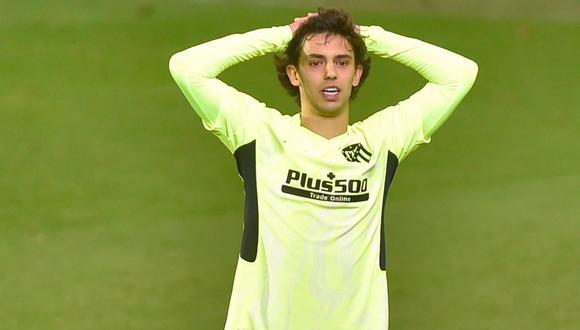 Joao Felix recibió sanción del Comité de Competición de la Federación Española de Fútbol . (Foto: AFP)