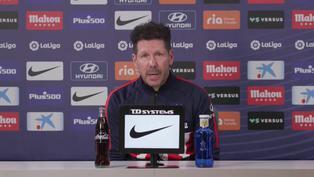 Simeone evalúa la posibilidad de traer un nuevo delantero tras la salida de Diego Costa