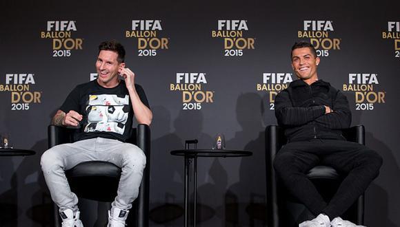 Lionel Messi tiene seis Balones de Oro, uno más que Cristiano Ronaldo. (Getty)