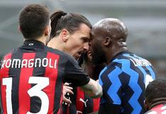 Se esperan sanciones: el duro insulto racista de Zlatan Ibrahimovic que desató la furia de Romelu Lukaku