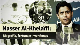 Nasser Al-Khelaïfi, el extenista que fichó a Messi y anhela la Champions