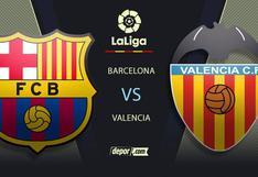 Barcelona vs. Valencia EN VIVO vía DIRECTV: transmisión por fecha 9 de LaLiga
