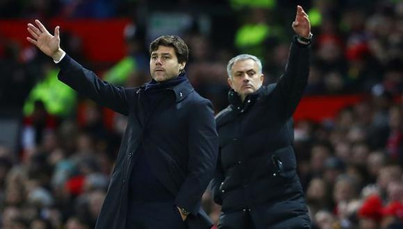 Mourinho sustituyó a Pochettino en el banquillo del Tottenham en noviembre del año pasado. (Foto: Getty)