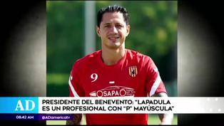 """Presidente del Benevento: """"Lapadula es un profesional con P mayúscula"""""""