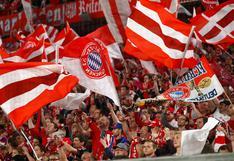Se pierden la Supercopa: fanáticos del Bayern Munich devuelven entradas por temor a contagio de coronavirus
