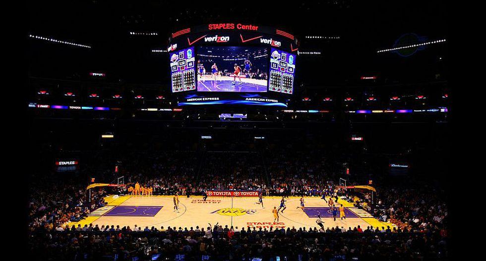 1. Será la tercera vez que el Staples Center de Los Ángeles albergue el evento del All Star tras las ediciones de 2004 y 2011. (AP/AFP/Getty)