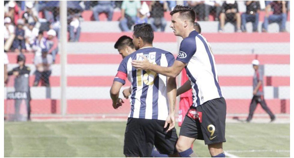 Alianza Lima derrotó 2-1 a Ayacucho FC en ciudad de Cumaná, en el 2018 (Foto: GEC)