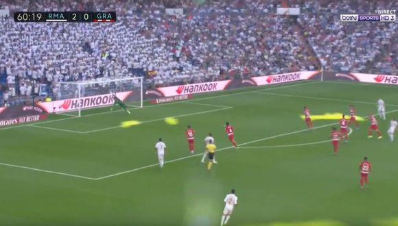 Golazo de Luka Modric tras asistencia de Hazard para la goleada del Real Madrid por LaLiga
