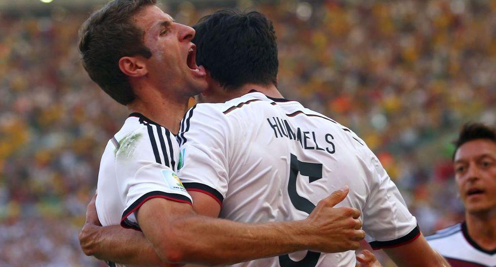Müller y Hummels ganaron el Mundial Brasil 2014 con la Selección de Alemania. (Foto: Getty)