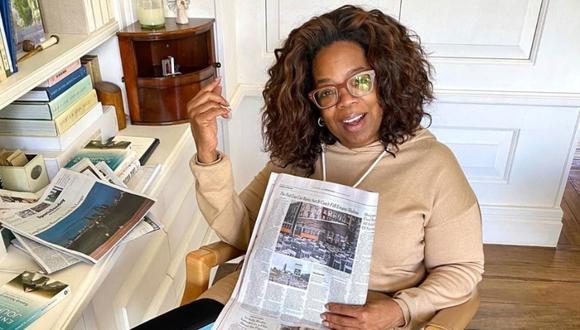 Oprah Winfrey aportó a la fundación America's Food Fund. (Foto: Instagram oficial)
