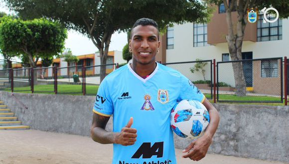Johan Arango fue anunciado como nuevo jugador de Binacional. (Foto: Binacional)