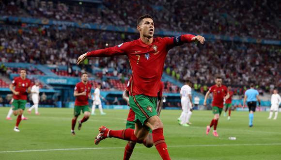 La felicitación de Ali Daei a Cristiano Ronaldo. (Foto: Reuters)