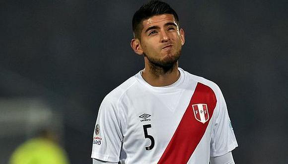Carlos Zambrano quedó fuera de la Copa América Centenario. (Foto: USI)