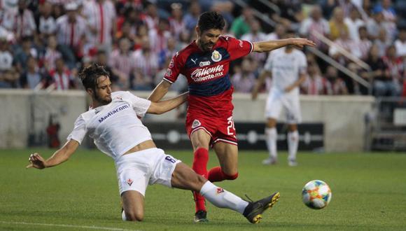 Chivas cayó ante Fiorentina por la International Champions Cup 2019.