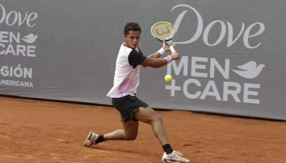 Juan Pablo Varillas debutó con victoria en el Challenger de Santiago II. (Legión Sudamericana)