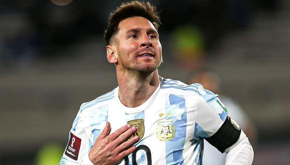 Lionel Messi es el máximo goleador de Sudamérica. (Foto: AFA)