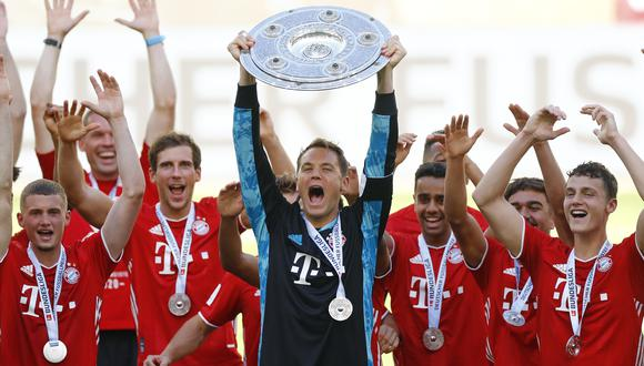 Bayern Munich es el vigente campeón de la Bundesliga. (Foto: AFP)