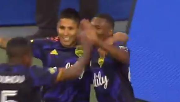 Gol de Raúl Ruidíaz para el 3-0 del Seattle Sounders vs. LA Galaxy por la MLS 2021 (Foto: @SoundersFC)
