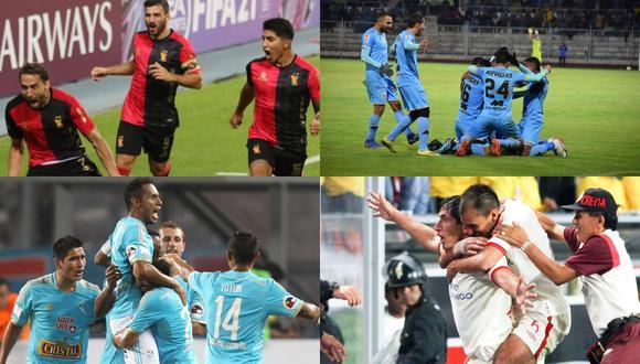 El historial de triunfos de los equipos peruanos ante brasileños. (Fotos: Agencias)