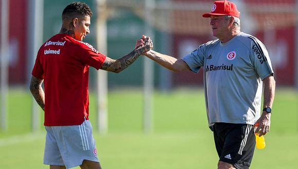 Abel Braga dirigió a Paolo Guerrero en el Inter entre noviembre del 2020 y febrero del 2021. (Foto: Internacional de Porto Alegre)