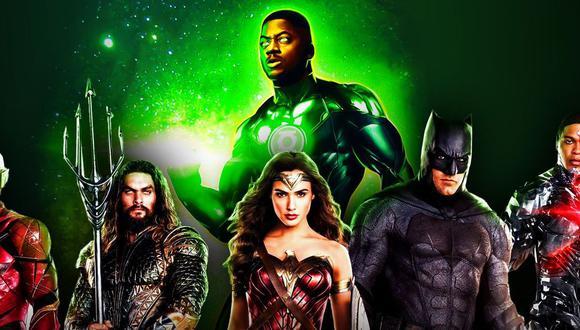 Wayne T. Carr grabó sus escenas como Green Lantern y esto es lo que dijo luego de enterarse que fue eliminado del corte final (Foto: HBO Max/DC Comics)